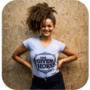 the-given-horse-tshirt-girlie-grey